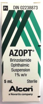 Azopt 1% Eye Drops 5ml from Canada