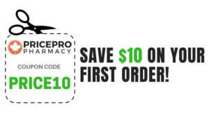 Save $10 off Canada Drugs Online Order with Rx Coupon