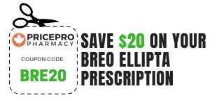 Breo Ellipta Rx Coupon